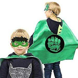 Other - NWT Boys Hulk Cape/Mask Costume 3-8 Year